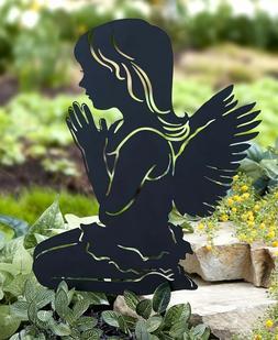 Angel Silhouette Garden Stake Yard Art Lawn Outdoor Home Dec