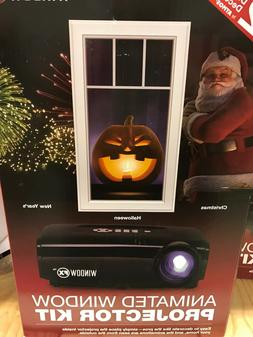 New Animated Window Projector Kit 12 Holiday Digital Decorat
