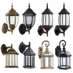 Antique Outdoor Wall Light Lamp Lantern Sconce Exterior Porc