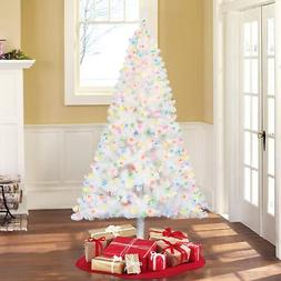 Holiday Time Pre-Lit 6.5' Madison Pine White Artificial Chri