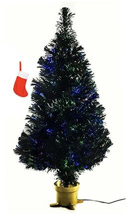 Holiday Time Artificial Christmas Tree with Red Stocking, 32