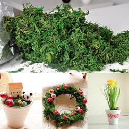 Artificial Dried Reindeer Moss Flowers Basket Garland Decor