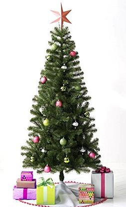 Artificial Evergreen Christmas Tree: Lightweight and Compact