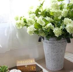 artificial flower - Snowball White