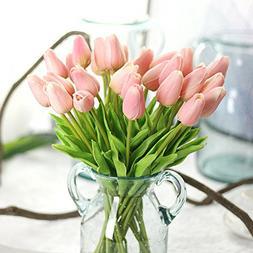 Bringsine Premium Artificial Flowers Real Touch Mini PU Tuli