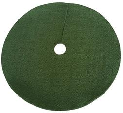 Zen Garden Artificial Grass Christmas Tree Skirt w/Anti-Slip