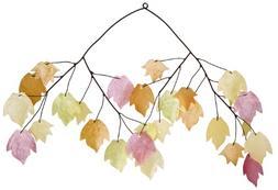 Woodstock Asli Arts Collection, Autumn Leaves Capiz Chime