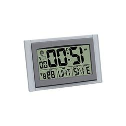 Large Atomic Clock Self-Setting Self-Adjusting Time Display