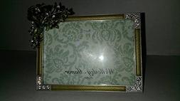 """Wellesley Manor"" 3.5"" x 5"" Austrian Crystal Photo Frame Tab"