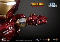 Authentic Kids Logic Egg Attack Iron Man Mark VI armor Suit