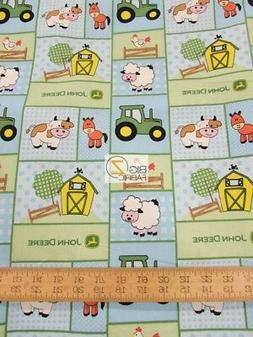 BABY-BARN YARD PATCH BY SPRINGS CREATIVE COTTON FABRIC FH-35