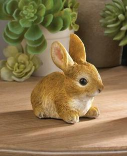 BABY BUNNY RABBIT OUTDOOR YARD GARDEN LAWN  ART DECOR  EASTE
