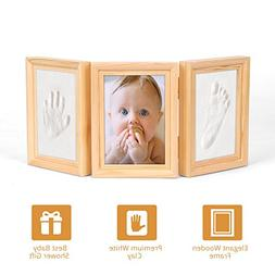 Baby Footprint Photo Frame - Best Baby Shower Gift Keepsake