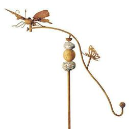 Balancing Buddies Kinetic Yard Art - Butterfly with Stone Ac