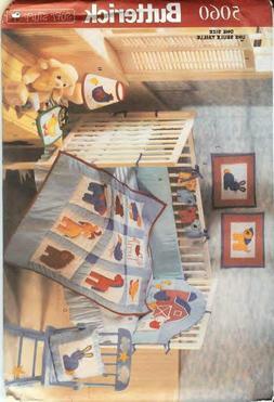 Butterick Barn Yard Baby's Room Decor Pattern