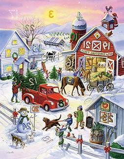 Barnyard Christmas Advent Calendar