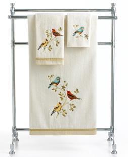 "Avanti Bath Towels, Gilded Birds 25"" x 50"" Bath Towel Beddin"