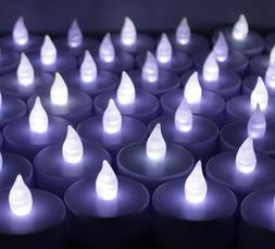 100 PCS Battery Operated Flameless LED Flickering Tea lights
