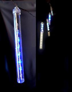 Fantado Battery Operated LED Meteor Snowfall Light Tubes - B