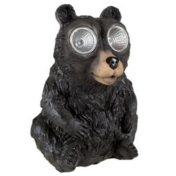 Bear Solar Light Statue Indoor Outdoor Garden Flowerbed Yard