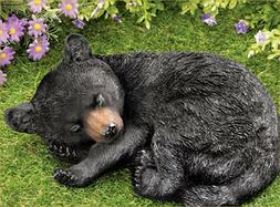 Bear Yard Decor Sleeping Baby Lodge Country Cabin Decoration