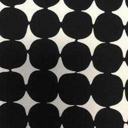 Alexander Henry BEBE Black & White Modern DOT Home Decor HEA