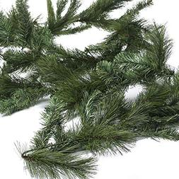 Factory Direct Craft Bendable Artificial Pine Needle Garland