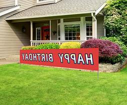 Best Large Happy Birthday Banner Giant Bday Party Sign Huge