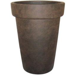"Better Homes and Gardens 16"" Bombay Garden Vase, Rust"