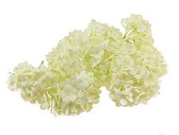 8pcs Big Faux Snowball Hydrangea Pattern Flower Handmade DIY