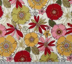 Big Flower Mill Creek Teasdale - Madden Cotton Home Decor Fa