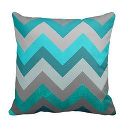 Bigdream Decorative Throw Pillow Cover Indoor/Outdoor Accent