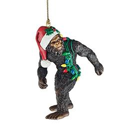 Design Toscano Bigfoot the Holiday Yeti Ornament