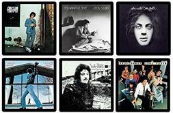 Billy Joel Collectible Coaster Gift Set -  Different Album C