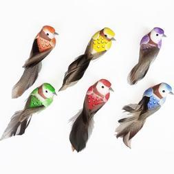 Bird Home Lawn Simulated Bird Figurine Ornament Lifelike Ani
