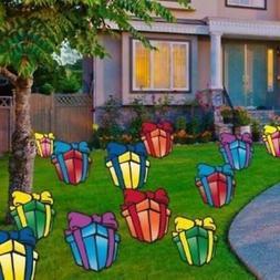Birthday Yard Cards - Large Birthday Presents Yard Decoratio