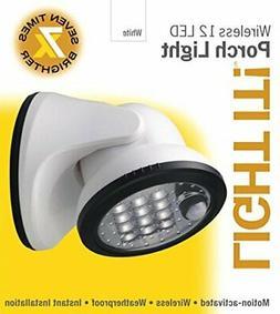 BK7S70 Light It! By Fulcrum, 12-LED Motion Sensor Security L