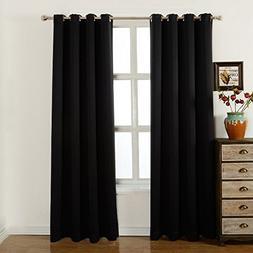 Blackout Curtains-52 W X 84 L Inch,Set Of 2 Panels Room Dark