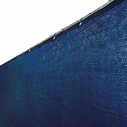 ALEKO 8 x 50 Foot Blue Fence Privacy Screen Outdoor Backyard