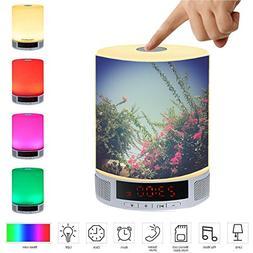 LED Bluetooth Speaker, All-in-1 Portable Wireless Speakers w