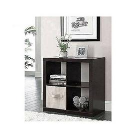 Better Homes and Gardens Bookshelf Square Storage Cabinet 4-
