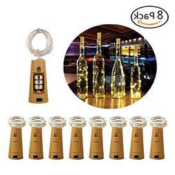 Dadiii Bottle Cork Lights Wine Bottle Lights Copper Wire Str
