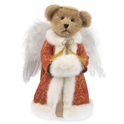 "Boyds Plush 12"" Angel Bear Tree Topper"