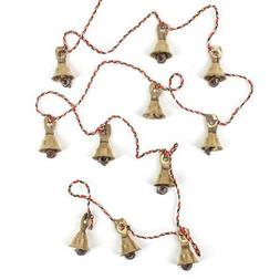 Rastogi Handicrafts Brass Decorative String of 11 Metal Vint