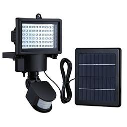 Litom Bright 60 LED Solar Lights Outdoor Solar Security Ligh