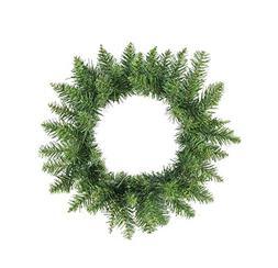 """Northlight 16"""" Buffalo Fir Artificial Christmas Wreath - Unl"""