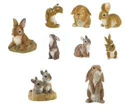 Bunny Rabbit Garden Statue - Yard Decor - 9 Different Statue