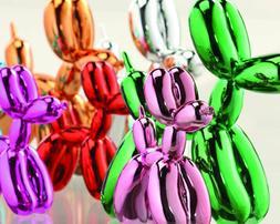 BUPPIES! Resin Balloon Dog Animal Figurine, Choose Your Colo