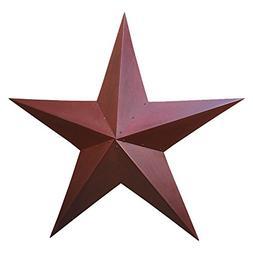 36 Inch Burgundy Star