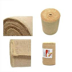 Firefly Craft Burlap Ribbon NO FRAY Fabric, 6 Inches by 20 y